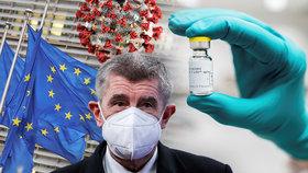 Solidarita s Českem: Unie pošle přednostně 100 tisíc dávek vakcíny Pfizer