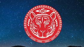 Nový čínský rok pro znamení Tygra: Nevrhejte se do věcí po hlavě, buďte trpěliví, jinak narazíte