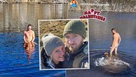 Vendula Pizingerová (48) potěšila fanynky: Nahé fotky manžela Pepy (33)!