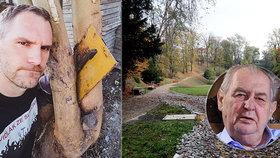 """Hřib píše Zemanovi: Nekácejte v Jelením příkopě stromy! """"Vaši poradci se zmýlili,"""" kárá ho prezident"""
