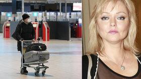 Dominika Gottová frnkla z Česka! Předtím prozradila, jak maminka bojuje s covidem
