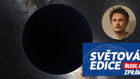 Hýbe kometami neznámá planeta za Plutem? Český astronom věří v černou díru