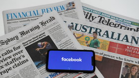 Facebook zablokoval v celé Austrálii zprávy. Odmítl za ně novinářům platit, premiér zuří
