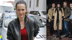 Hvězda seriálu Hlava Medúzy Bučková: Táta voják, ale máma stála při mně, když mi šlo o život!