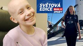 Rakovina jí coby malé holce vzala koleno. Teď Hayley (29) poletí do kosmu s Muskovou raketou