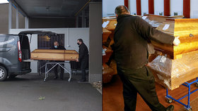 Mrtvé z Karlovarska převáží do okolí. Jediná kremační pec zřejmě nezvládla nápor
