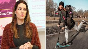 Lucie Křížková jela pro syna do školy a měla nehodu! Hnutý krk a zlomené sebevědomí!