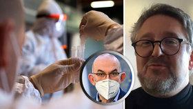 Epidemiolog Smejkal: U covidu je třeba změnit strategii! A nabídku na ministra bych nepřijal