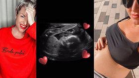 Těhotná Martina Pártlová se pochlubila snímkem z ultrazvuku: Už je jasné, po kom miminko bude!