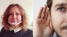 """""""Křičení nepomáhá!"""" Koronavirus trápí lidi se sluchovými problémy. Kvůli respirátorům nemohou odezírat"""