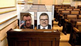"""Kvůli odpůrcům roušek nasadí plexisklo: Kuriózní opatření po """"flákanci"""" ve Sněmovně"""