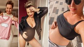 Tohle Martina Pártlová v plánu neměla: Nejvíc sexy těhotenské fotky!