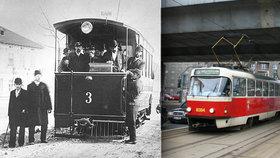 Před 125 lety vyjely první tramvaje na Křižíkovu dráhu. Trať funguje dodnes