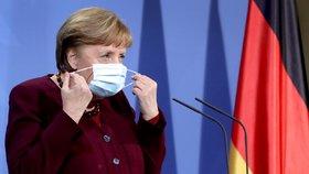 """Velikonoční lockdown nebude, Merkelová po zmatcích přiznala chybu: """"Hluboce toho lituji"""""""