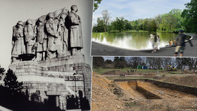 Archeologové na Letné objevili pozůstatky pracovního tábora pétépáků. Stavěli Stalinův pomník