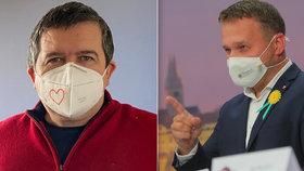 Drahé respirátory: Vláda okrádá daňové poplatníky, zuří Jurečka. Hamáček zaryl do NKÚ