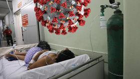 """""""Jsme v zákopech a vedeme válku,"""" popisuje sestřička boj v nemocnicích. Nová mutace děsí svět"""