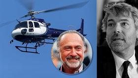 Prokleté vrtulníky: Ve stejném stroji jako Kellner (†56) zemřel i miliardář Olivier (†69)