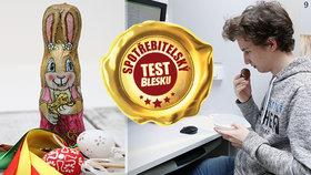 Test velikonočních zajíčků překvapil! Při výběru se řiďte jedinou věcí!