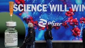 Pfizer ukázal novou studii a má dobré zprávy. Vakcína je účinná překvapivě dlouho