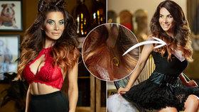 Drbna ze Slunečné Eva Decastelo pózovala jako sexy dračice: Pak ale ztratila šperk od manžela!