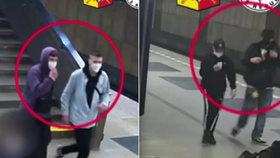 VIDEO: Nechutné napadení v metru: Sígři si vybili vztek na mladších sourozencích, hledá je policie