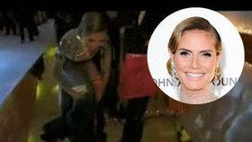 Heidi Klum si na večírku sundala kalhotky!