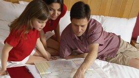Jak prožít dovolenou s malými dětmi v poklidu?