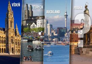 Vídeň je nejlepší město pro život! Jak dopadla Praha? A co Brno?