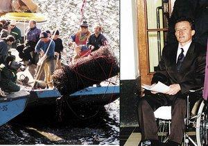 Nejdřív se střelil do rozkroku, pak spáchal sebevraždu: Orlický vrah Kopáč zemřel před 12 lety