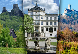 Nejkrásnější hrady a zámky Česka: Ústecký a Liberecký kraj