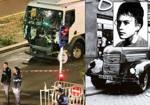 Vrahovi z Nice se nerovná ani Hepnarová. Kdo další zabíjel s nohou na plynu?