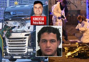 Komentář: Terorista Anis Amri je mrtvý. Ukázal slabiny Německa i Evropy