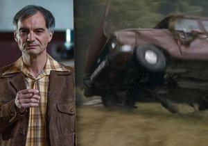 Zákulisí seriálu Svět pod hlavou: Při honičce moskviče šlo o život!