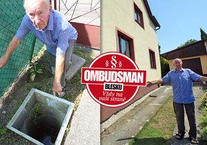 Panu Kuželovi začalo po padesáti letech vadit to, co dřív nevadilo: Byla – nebyla... kanalizace!