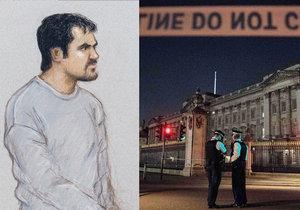 Teroristu spletla navigace: Chtěl útočit na palác, skončil ale v hospodě