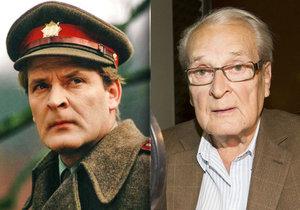 Co Vladimír Brabec (†83) říkal o své NEJ roli: Major Zeman mě jako herce zničil!