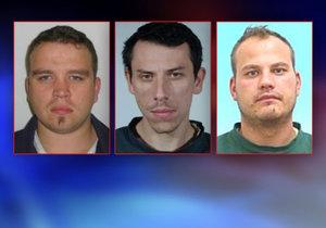 Trojice vězňů na útěku: Dva dopadla policie na Ústecku, třetí uniká