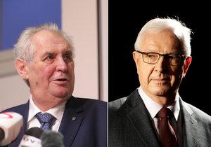 Zeman vs. Drahoš: Jak to mají s migrací, Babišem, pravomocemi či přijetím eura?