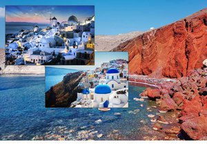 Úchvatné Santorini: Nejkrásnější a nejfotografovanější