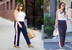 Na velikosti prostě nezáleží, blogerka v outfitu Kourtney Kardashian.
