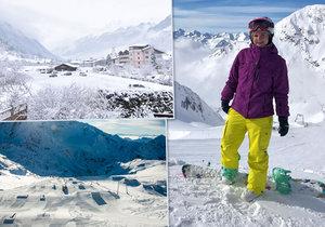 Největší rakouský ledovec Stubai: Tady si zalyžujete až do června!