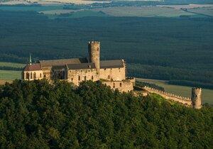 Z věže hradu Bezděz!