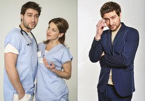 Sexy doktor z Modrého kódu Němec: Tajně se oženil! Svatbu dlouho odkládal.