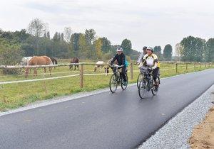 Nová plzeňská cyklostezka: Ze Starého Plzence dojedete až do centra města