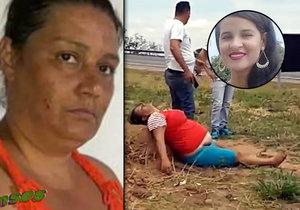 Zvrhlý pár vyřízl ženě dítě z břicha. Ženu ve středu pohřbili. Lidé chtěli vražedkyni lynčovat!