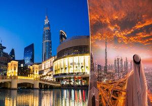 Na skok v Dubaji: »Hogo fogo« stavby, celebrity a nekonečné nákupy! Jak si užít dosyta místního luxusu?