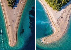 Chorvatsko přišlo o ikonickou pláž: Zlatý roh ohnul vichr!