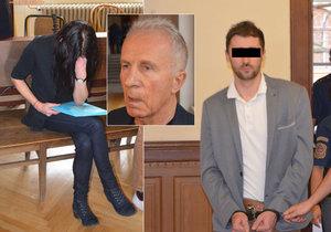 Pokus o vraždu pornokrále: Za manželku chce složit miliony v kauci a k soudu ženou Kajínka!