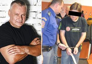 Kajínkův synovec pobodal muže a dítě (2): Do kriminálu nepůjde!
